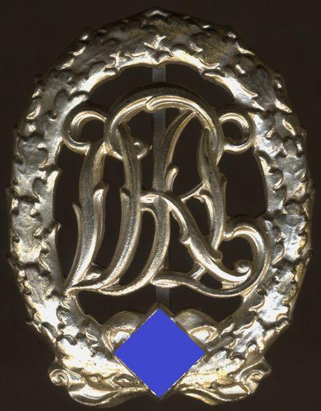 Reichssportabzeichen in Silber - Hermann Wernstein / Jena