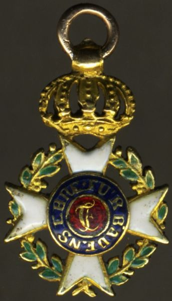 Miniatur - Baden, Militär-Karl-Friedrich-Verdienstorden