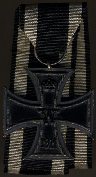 Eisernes Kreuz 2. Klasse 1914 - früh & 20 cm Band (!)