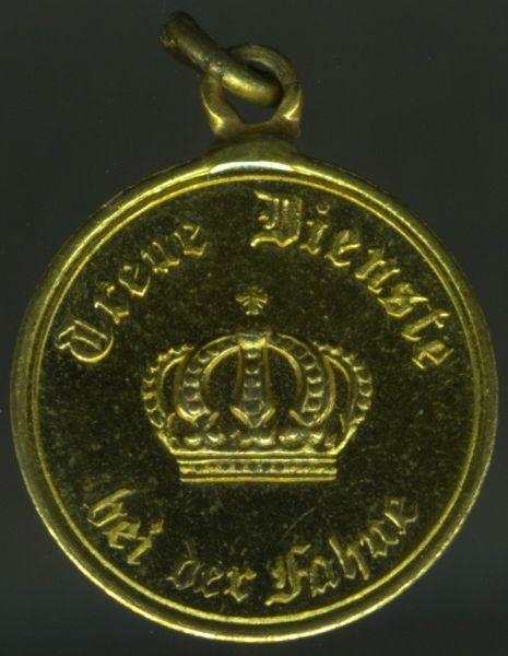 Miniatur - Preußen, Dienstauszeichnung 3. Klasse