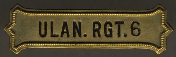 Regimentskreuz-Spange des Thüringischen Ulanen-Regiments Nr. 6