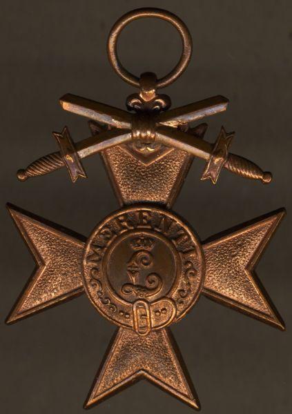 Bayern, Militär-Verdienstkreuz 3. Klasse mit Schwertern - Deschler & Sohn / München