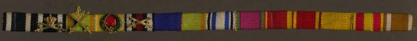 14er Feldspange des MKFVO-Ritters Oberstleutnant Fedor Grohe