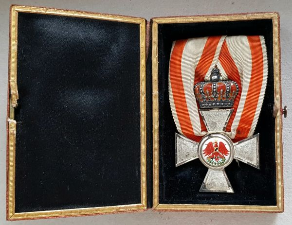Preußen, Roter-Adler-Orden 4. Klasse mit Krone + Etui