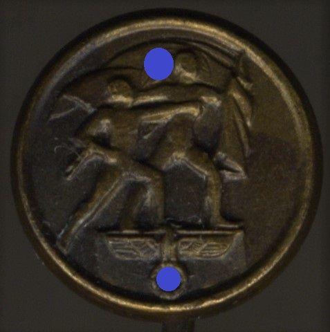 Miniatur - Anschlussmedaille Sudetenland