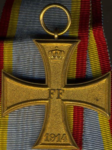 Mecklenburg-Schwerin, Kriegsverdienstkreuz 2. Klasse 1914