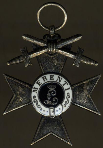 Bayern, Militär-Verdienstkreuz 2. Klasse mit Schwertern - Gebr. Hemmerle / München