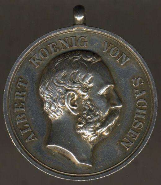 Sachsen, Medaille für Treue in der Arbeit (Albert)