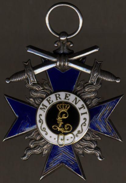 Bayern, Militär-Verdienstorden 4. Klasse mit Schwertern - Variante (!)